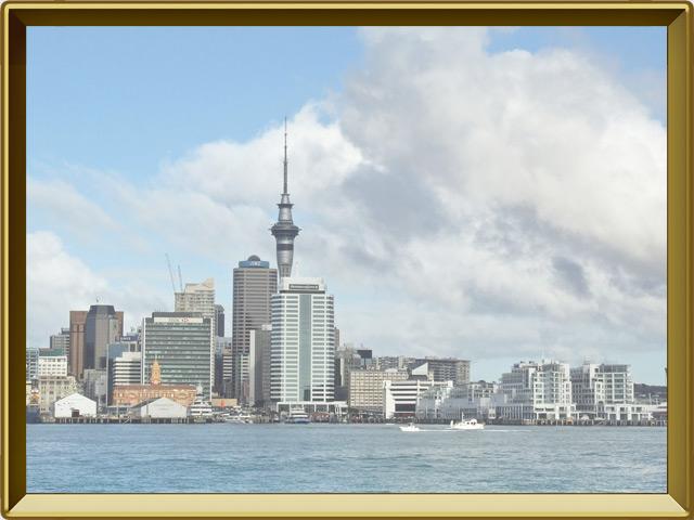 Окленд — город, фото в рамке №1
