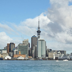 Окленд — город, картинка цветная