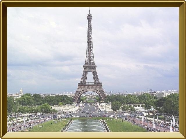 Париж — город, фото в рамке №1