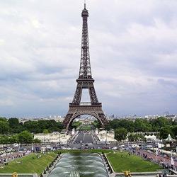 Париж — город, картинка цветная