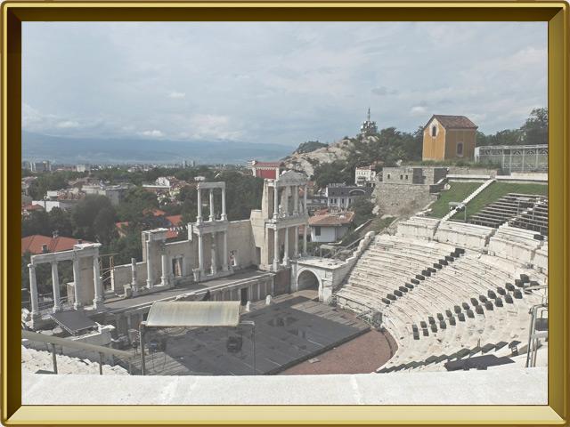 Пловдив — город, фото в рамке №2