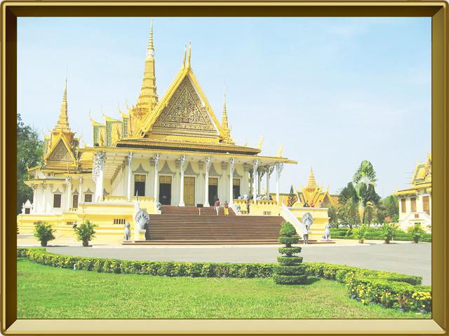 Пномпень — город, фото в рамке №1