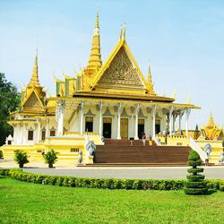 Пномпень — город, картинка цветная