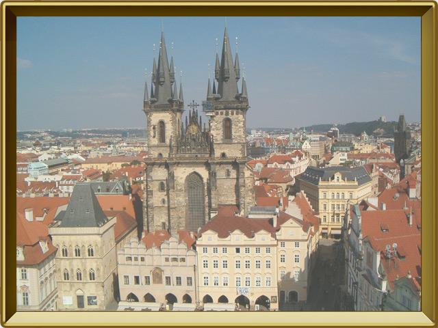 Прага — город, фото в рамке №1