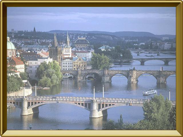 Прага — город, фото в рамке №2