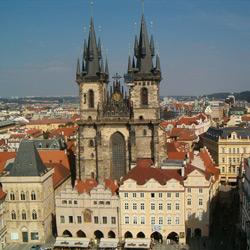 Прага — город, картинка цветная
