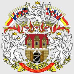 Прага — герб города, картинка цветная