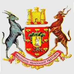 Претория — герб города, картинка цветная