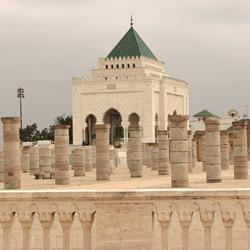 Рабат — город, картинка цветная