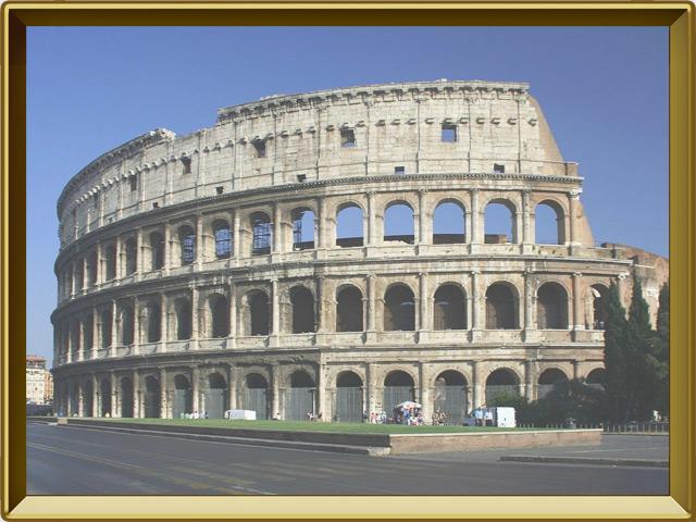 Рим — город, фото в рамке №2