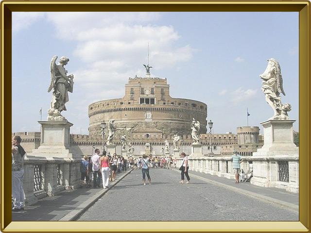 Рим — город, фото в рамке №3