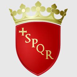 Рим — герб города, картинка цветная