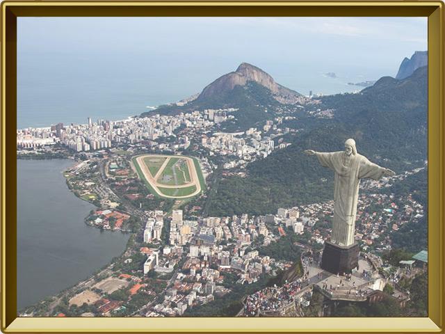 Рио-де-Жанейро — город, фото в рамке №1