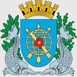 Рио-де-Жанейро — герб города, картинка цветная