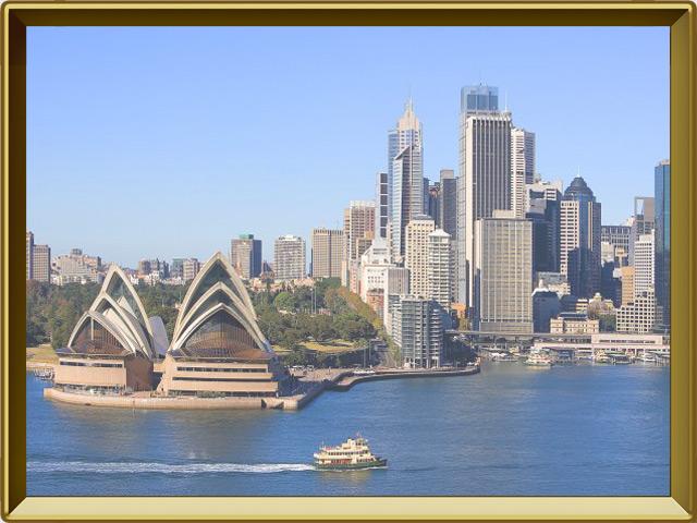 Сидней — город, фото в рамке №1