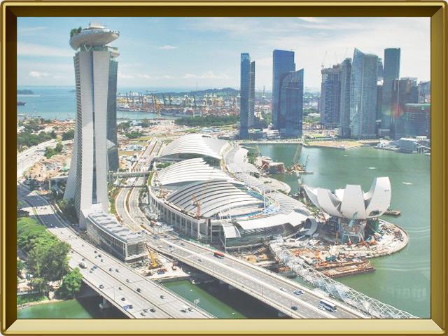 Сингапур — город, фото в рамке №1