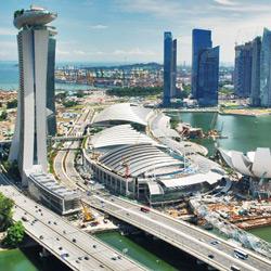 Сингапур — город, картинка цветная