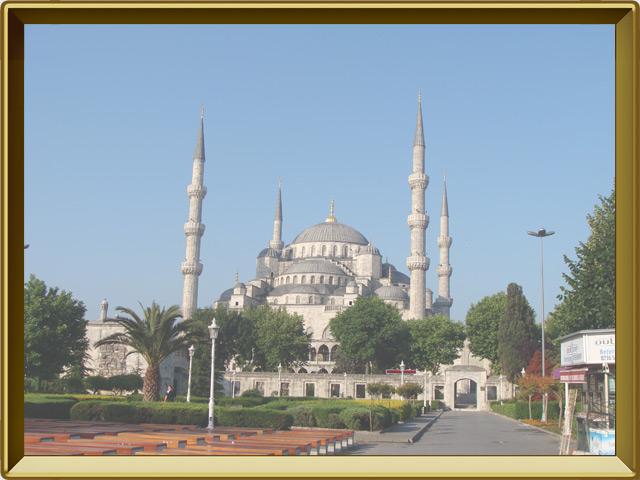 Стамбул — город, фото в рамке №1