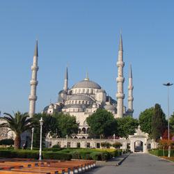 Стамбул — город, картинка цветная