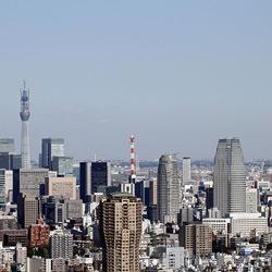 Токио — город, картинка цветная