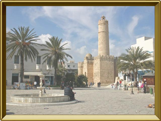 Тунис — город, фото в рамке №1