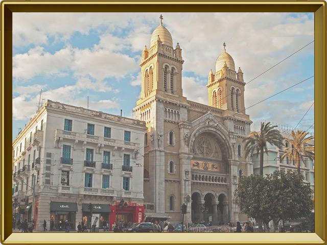 Тунис — город, фото в рамке №3