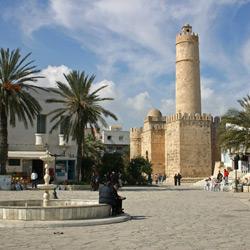 Тунис — город, картинка цветная