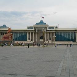 Улан-Батор — город, картинка цветная