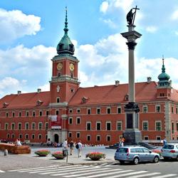 Варшава — город, картинка цветная