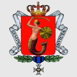 Варшава — герб города, картинка цветная
