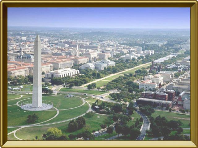 Вашингтон — город, фото в рамке №3