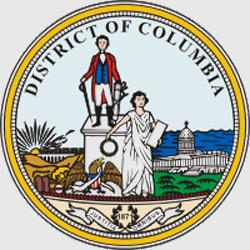 Вашингтон — герб города, картинка цветная
