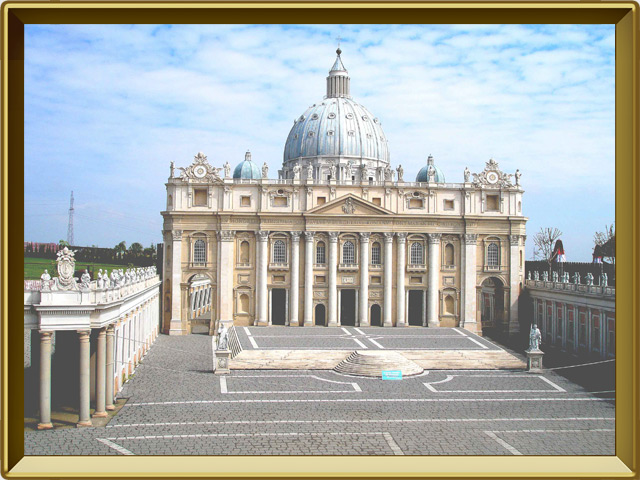 Ватикан — город, фото в рамке №1