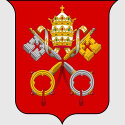Ватикан — герб города, картинка цветная