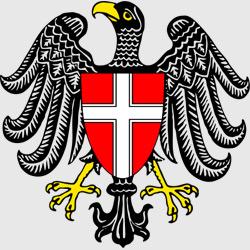 Вена — герб города, картинка цветная