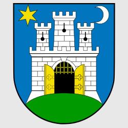 Загреб — герб города, картинка цветная