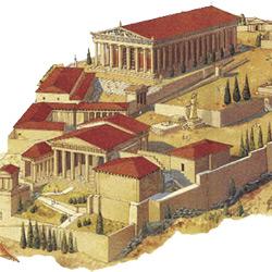 Акрополь — познавательно, картинка цветная