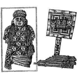 Древние Инки — познавательно, картинка чёрно-белая