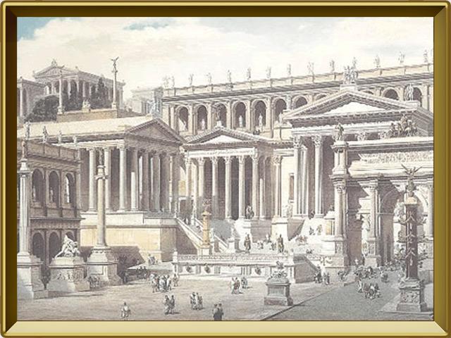 Древний Рим — познавательно, фото в рамке №1