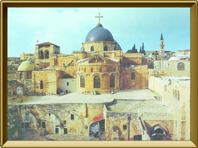 Храм Гроба Господня — познавательно, фото в рамке №1