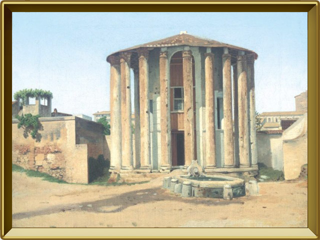 Храм Весты — познавательно, фото в рамке №1