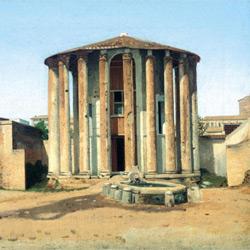 Храм Весты — познавательно, картинка цветная
