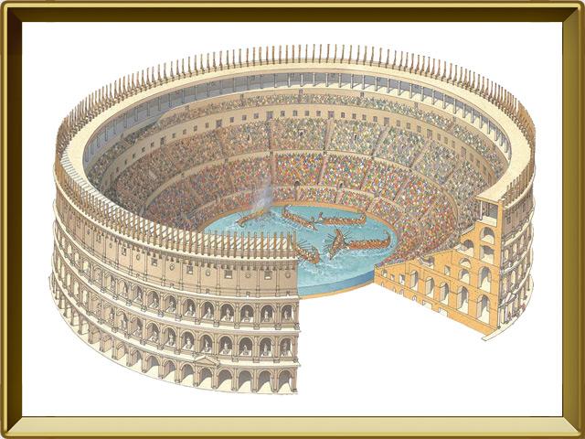 Колизей — познавательно, фото в рамке №1
