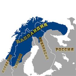 Лапландия — познавательно, картинка цветная