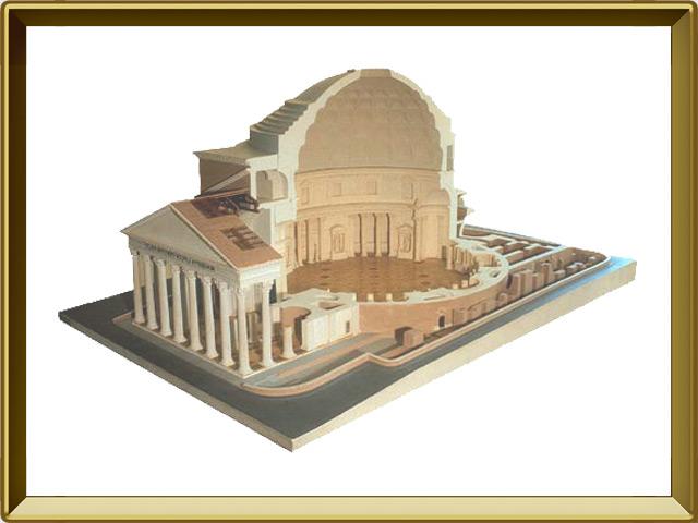 Пантеон — познавательно, фото в рамке №1
