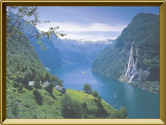Скандинавия — познавательно, фото в рамке №2