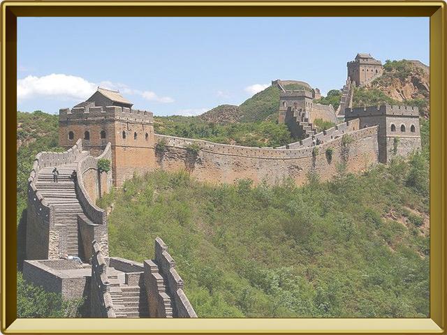 Великая Китайская Стена — познавательно, фото в рамке №2