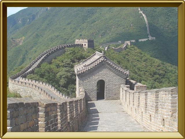 Великая Китайская Стена — познавательно, фото в рамке №3