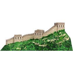 Великая Китайская Стена — познавательно, картинка цветная