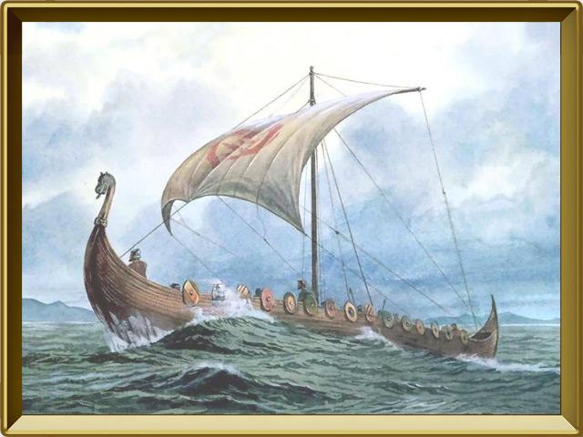 Викинги — познавательно, фото в рамке №2